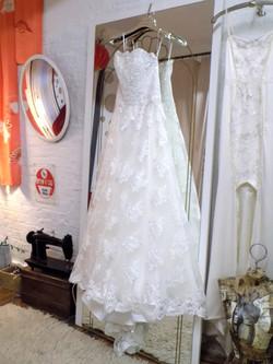"""Leonie"" bespoke wedding gown"