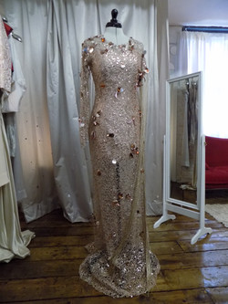 """Rayah"" dress front"