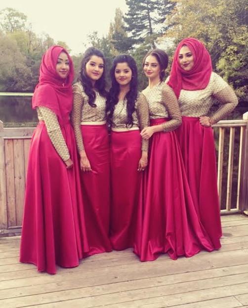"""Shazia"" bridesmaids"
