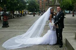 """Elizabeth"" bespoke wedding skirt"