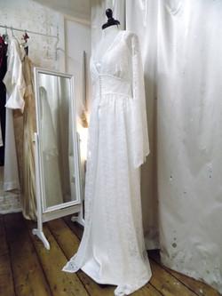"""Rosie B"" bespoke wedding outfit"