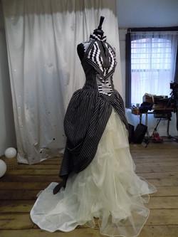 """Adele"" bespoke wedding dress"