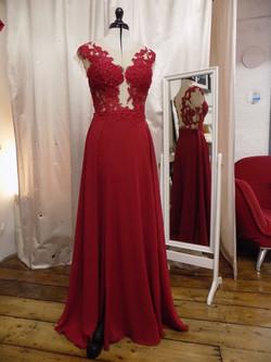 """Courtney"" bespoke gown"