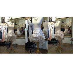 """Gemma"" bespoke wedding skirt"