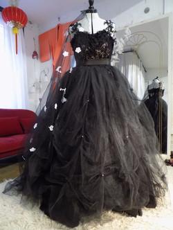 """Samantha"" bespoke wedding dress"