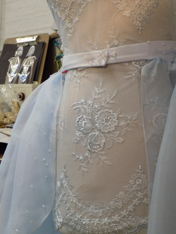 """""""D'Arcy"""" bespoke gown"""