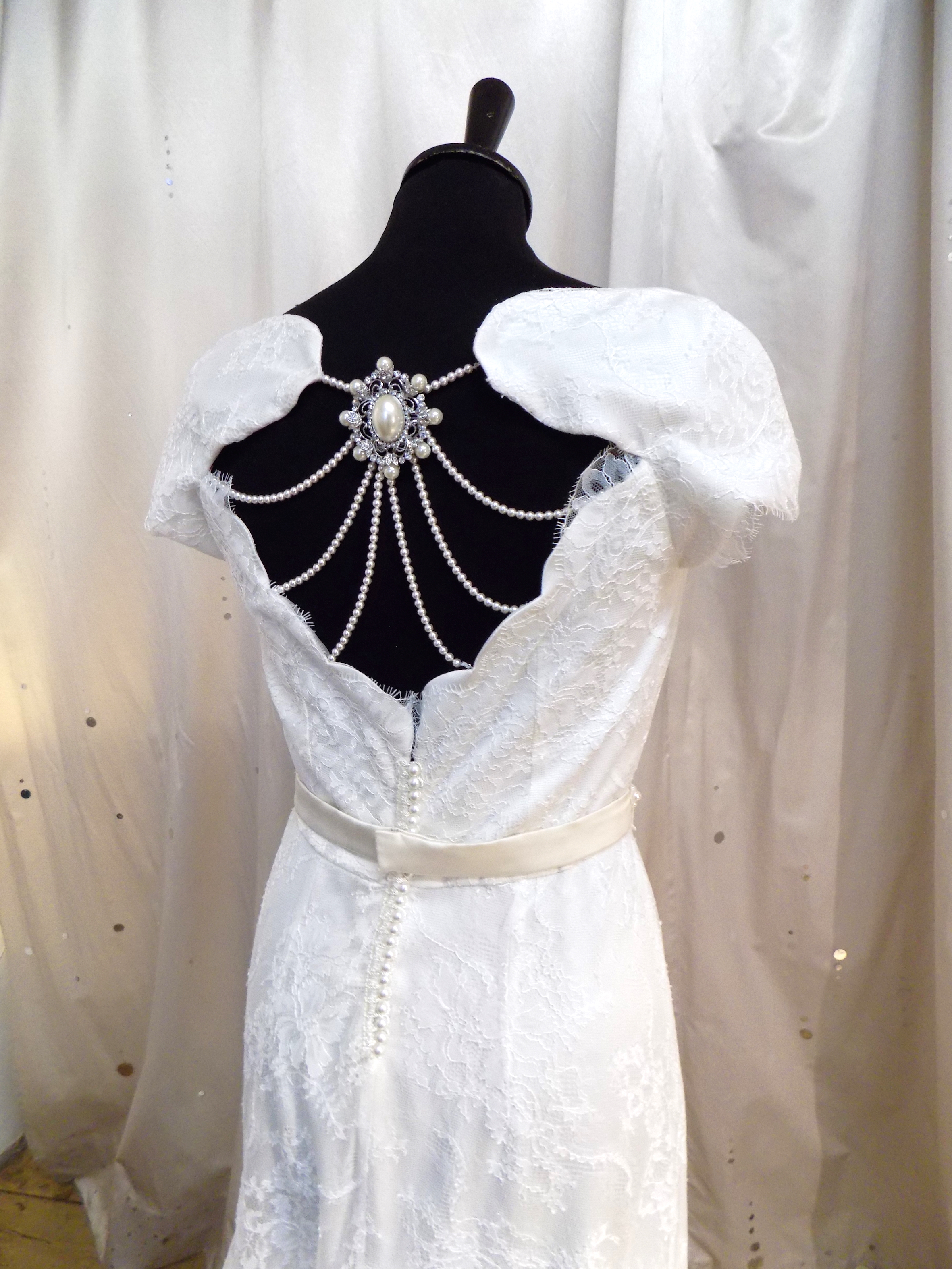 """Julie"" bespoke wedding gown"