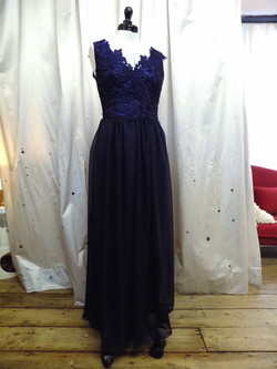 """""""Carly"""" bespoke gown"""