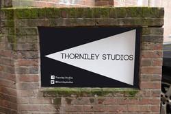 Thorniley Studios, sign
