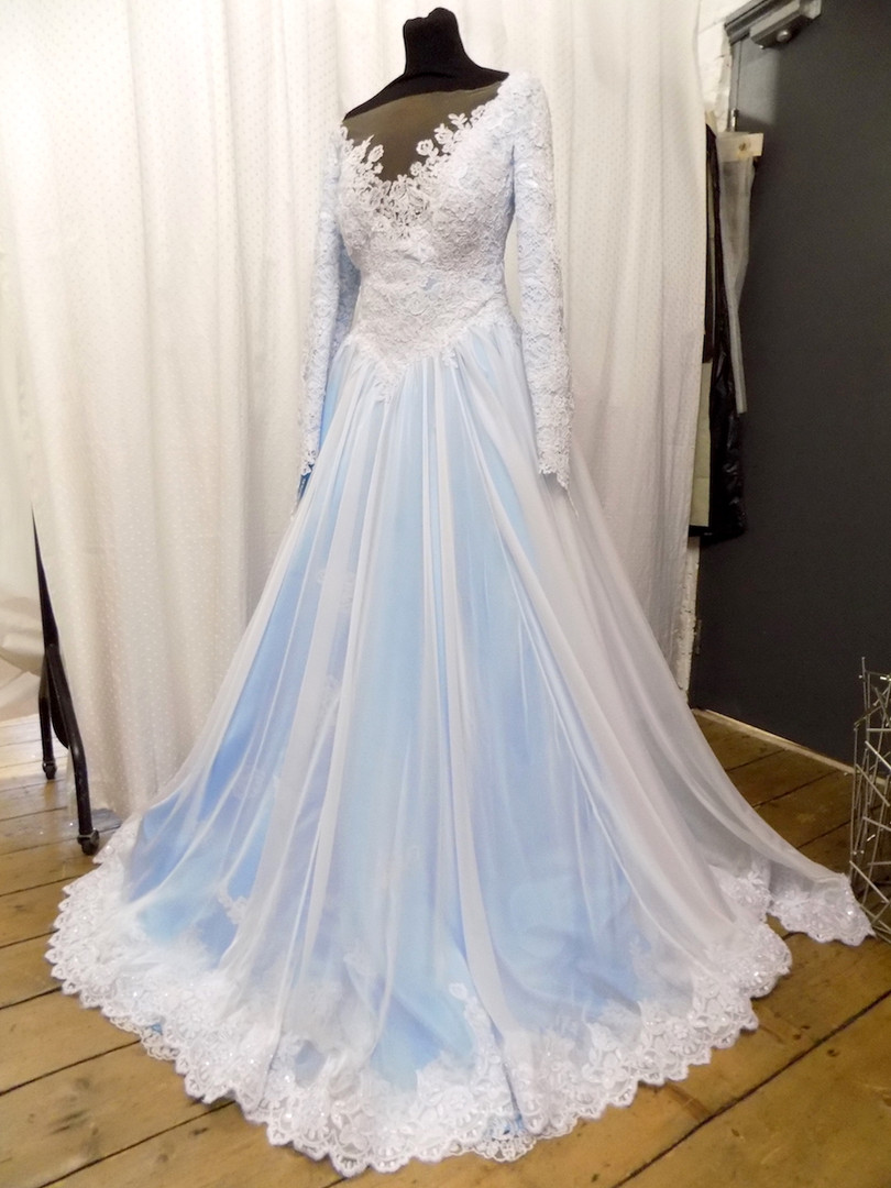 """Karon"" customized wedding dress"