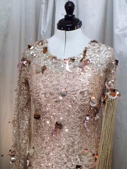 """Rayah"" dress close-up"