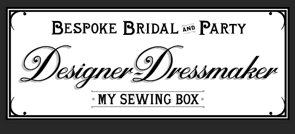 Bespoke bridal designer | My Sewing Box | Manchester