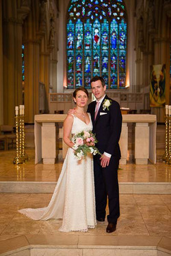 """""""Vicky"""" bespoke wedding dress"""