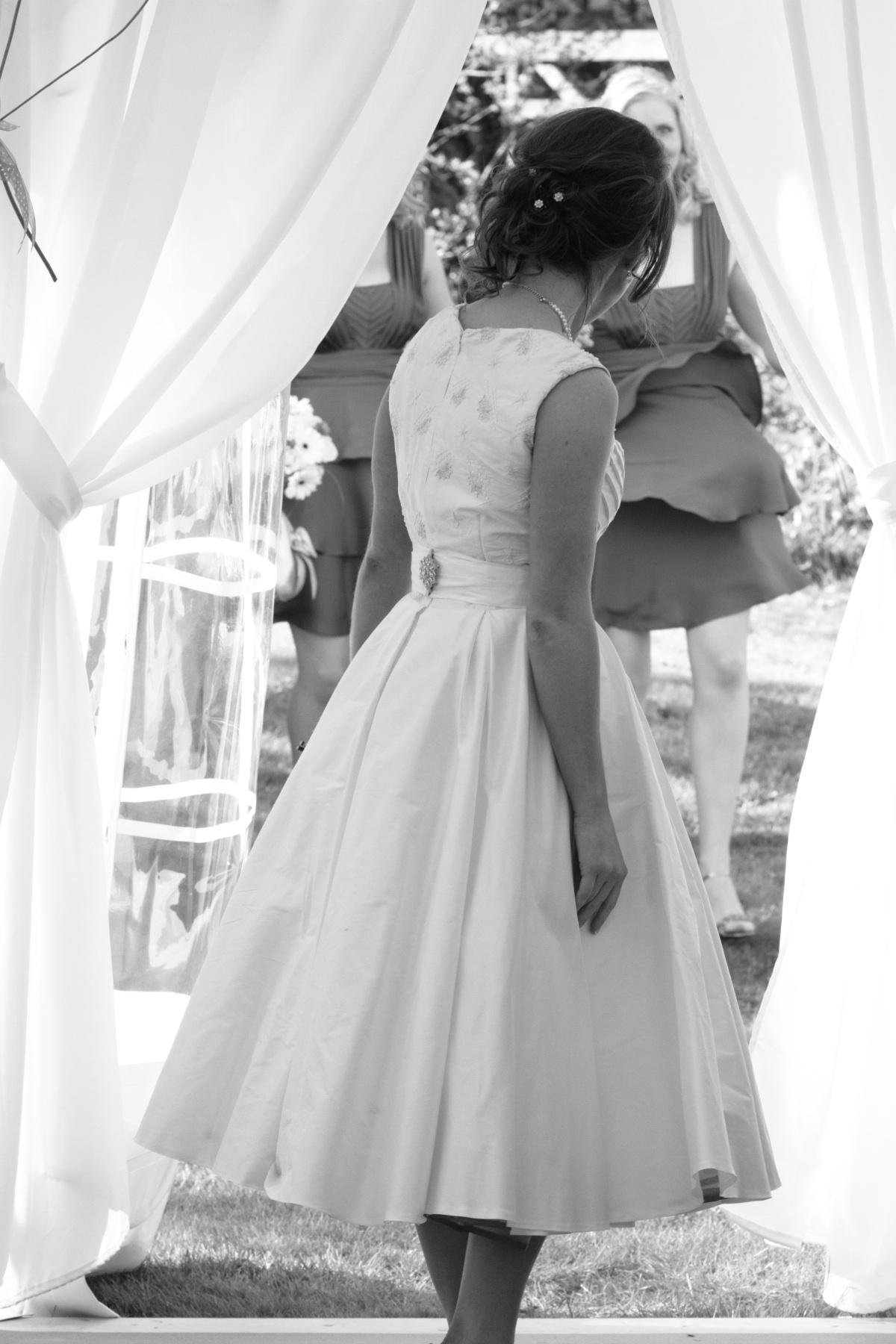 """Catrina"" bespoke wedding outfit"