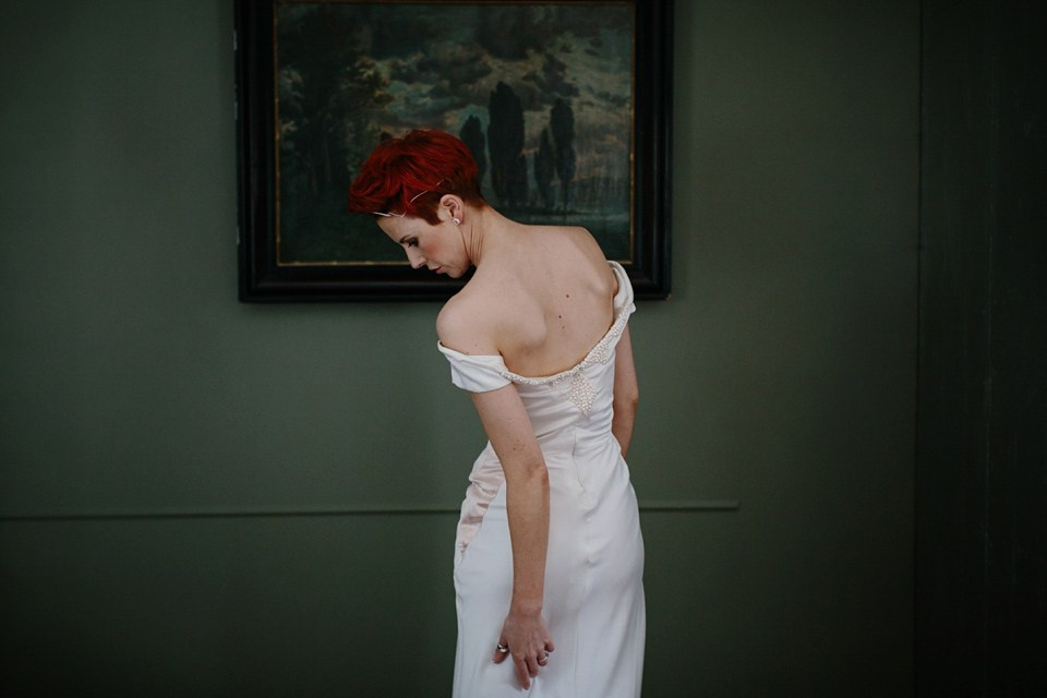 """Helena"" bespoke wedding gown"