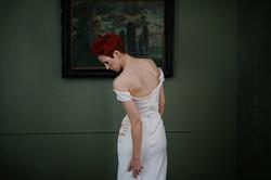 """Helena"" bespoke wedding gown"