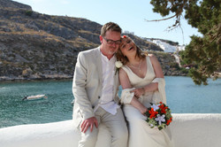 """Steph"" bespoke wedding dress"