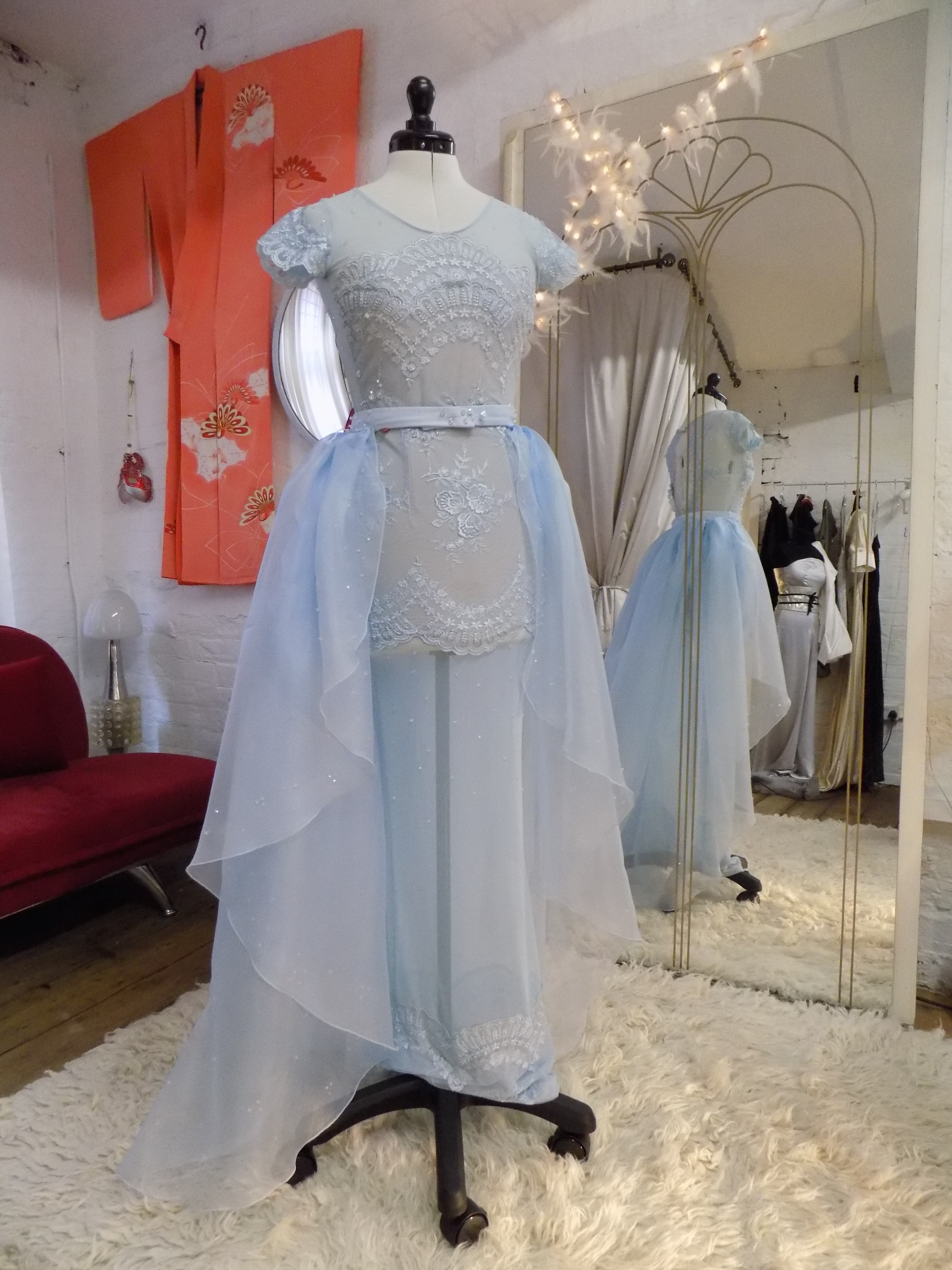 """D'Arcy"" bespoke gown"