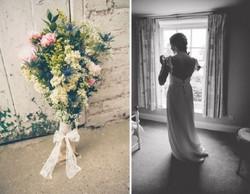 """Laura"" bespoke wedding dress"
