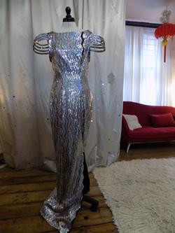 """Jana"" bespoke wedding dress"