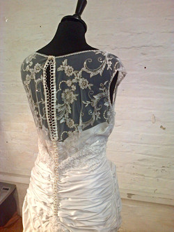 """Claire"" bespoke wedding dress"