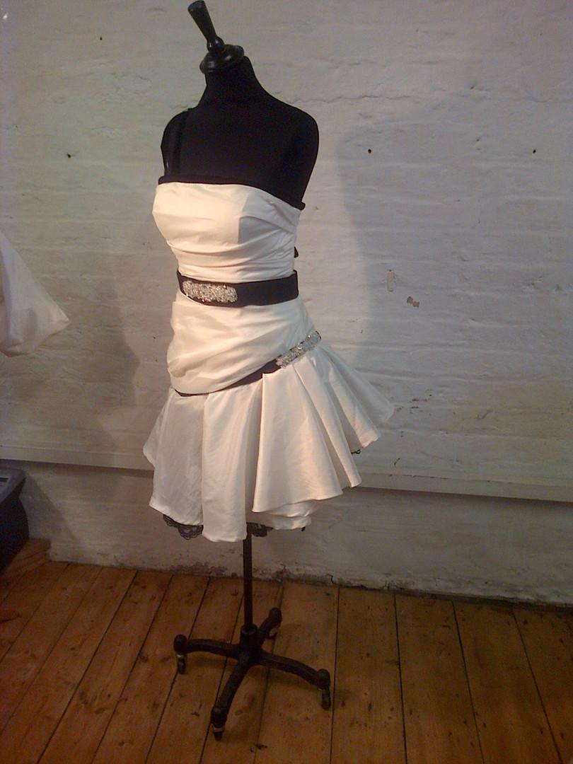 """Sarah"" upcycled wedding dress"