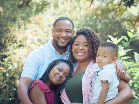 JONES | FAMILY LIFESTYLE SESSION at SHAW PARK
