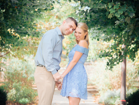 TAYLOR & AUSTIN | ENGAGEMENT SESSION at FOREST PARK JEWEL BOX