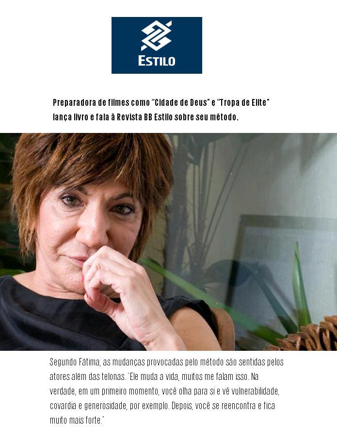 Fátima Toledo no BB Estilo