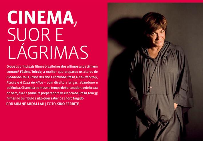 Fátima Toledo na Revista TPM