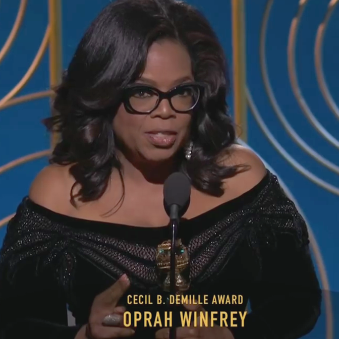 O discurso empoderador de Oprah