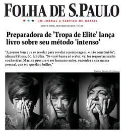Fátima Toledo na Folha de São Paulo
