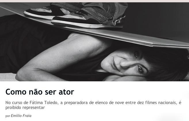 Fátima Toledo na Revista Piauí