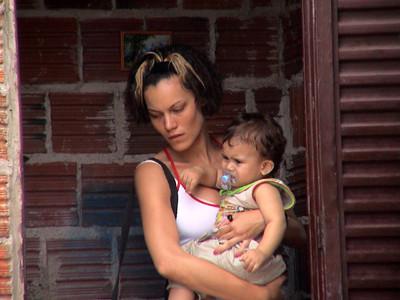 Hermila em cena no filme O Céu de Suely – Crédito: Divulgação do filme