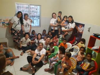 Ação de Páscoa - GEFF Recife - PE