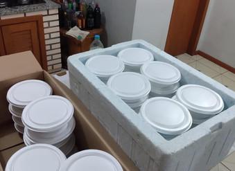 Ação Social - Distribuição de refeições para moradores de rua