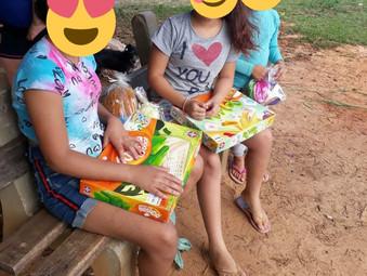 Ação social do GEFF de São Leopoldo em Tancredo Neves (RS)