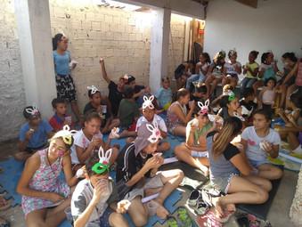 Ação de Páscoa - GEFF Curitiba- PR
