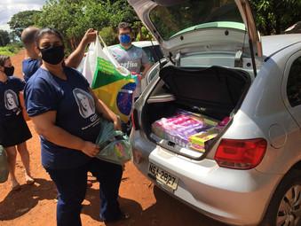 Ação social do GEFF de Campo Grande em Jardim Nilópolis (MS)