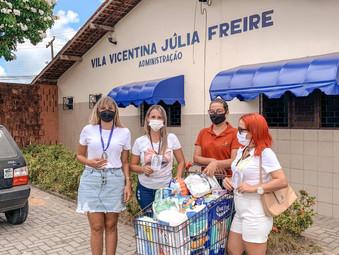 Ação social de natal em João Pessoa - Paraíba