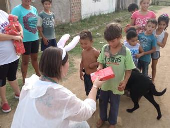 Ação de Páscoa - GEFF Pedro Osório - RS