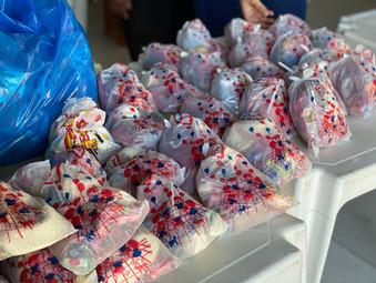 Doação de doces e brinquedos - Casa de Fátima RJ