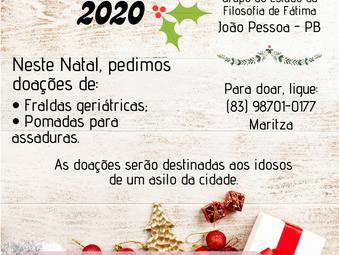 Ação social de Natal Nacional - Filosofia de Fátima
