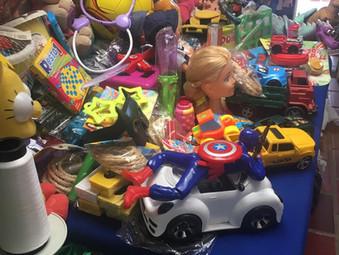 Doação de brinquedos e saquinhos de doces - GEFF Porto Alegre, RS