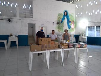 Ajuda em doação de alimentos - Casa de Fátima/ RJ