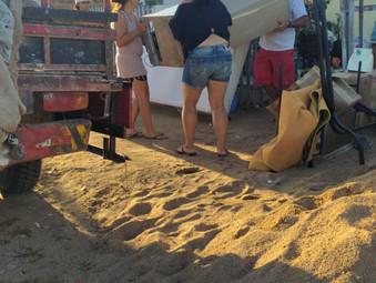Doação de móveis pela Casa de Fátima em Pedro Osório RS