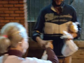 Geff de São Leopoldo cuida dos moradores de rua no Rio Grande do Sul