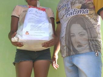 Ação social de natal em Garanhus - Pernambuco