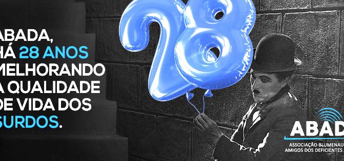 A ABADA comemora 28 anos de serviços prestados à comunidade e lança uma campanha de aniversário