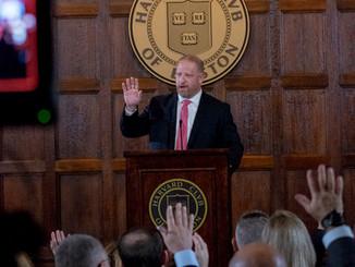 Presenting at Harvard